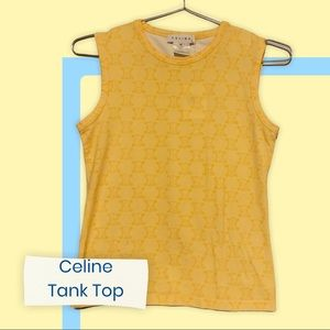 💯% AUTH ⭐ Celine Women's Vest